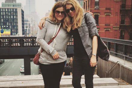 Holly and Ilana do New York.   (pic: Ilana Fox)