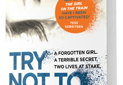 3D image of Try Not to Breathe in paperback