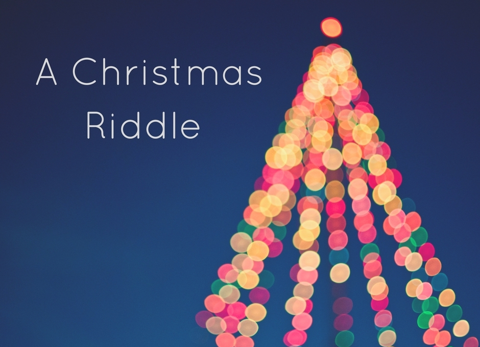 Alex Dale Christmas Riddle