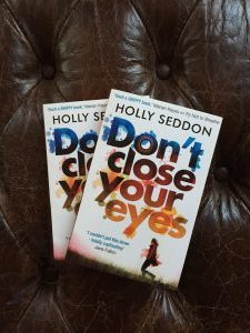 Two copies of Don't Close Your Eyes