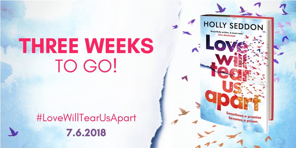 Three weeks to go before Love Will Tear Us Apart is released