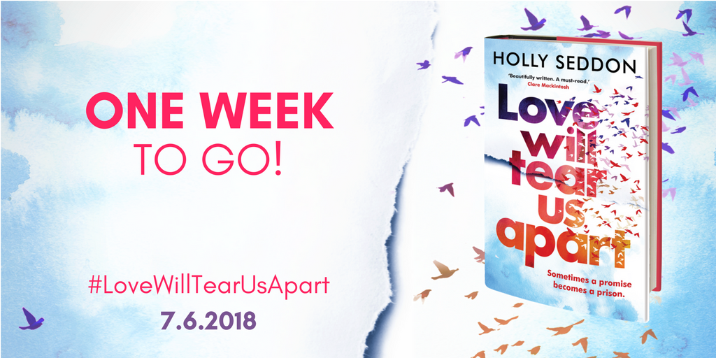Love Will Tear Us Apart - One week to go